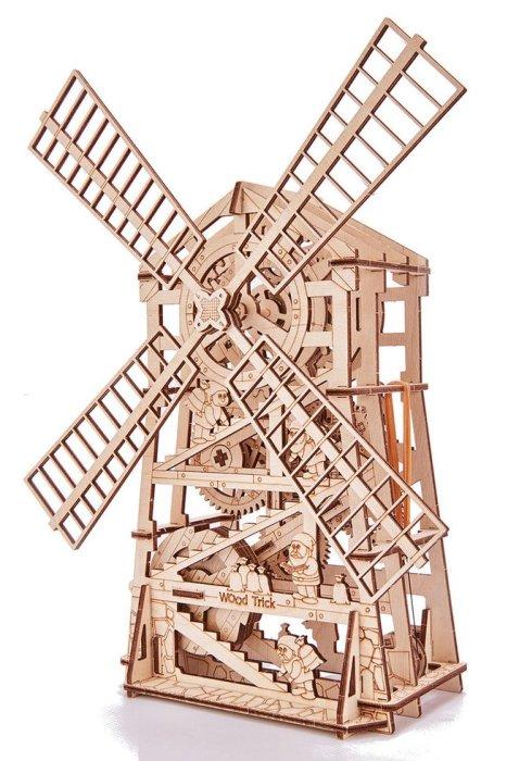 Конструктор деревянный Wood Trick Механическая мельница фото