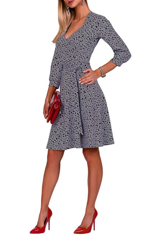 Платье женское FABIEN DE FERANTE 1877 синее 44 RU фото