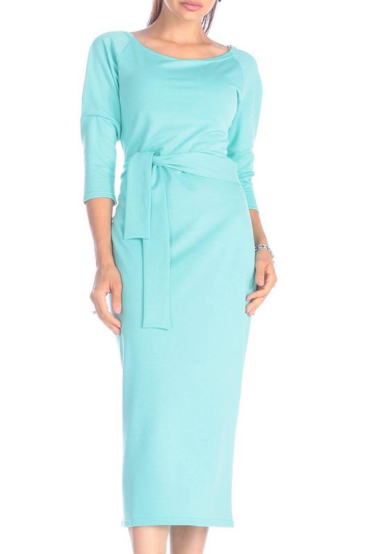 Платье женское Rebecca Tatti RR730_24DV зеленое XS