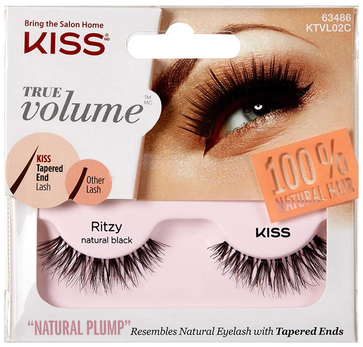 Купить Накладные ресницы KISS True Volume Lash Ritzy (KTVL02C) 2 шт