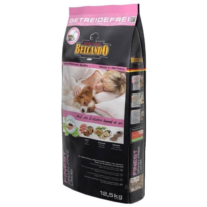 Сухой корм для собак BELCANDO Finest GF Lamb, беззерновой, ягненок, 12,5кг фото