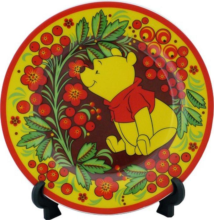 Тарелка керамическая Trudeau Винни Пух десертная, 19 см фото