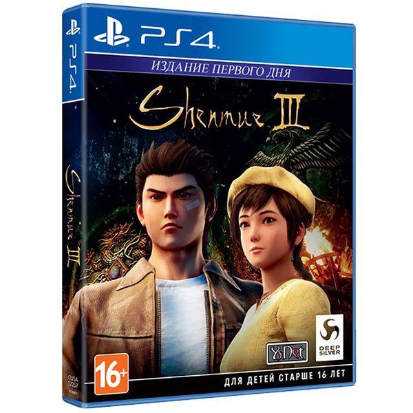 Игра Shenmue III Издание первого дня (Нет пленки на коробке) для PlayStation 4