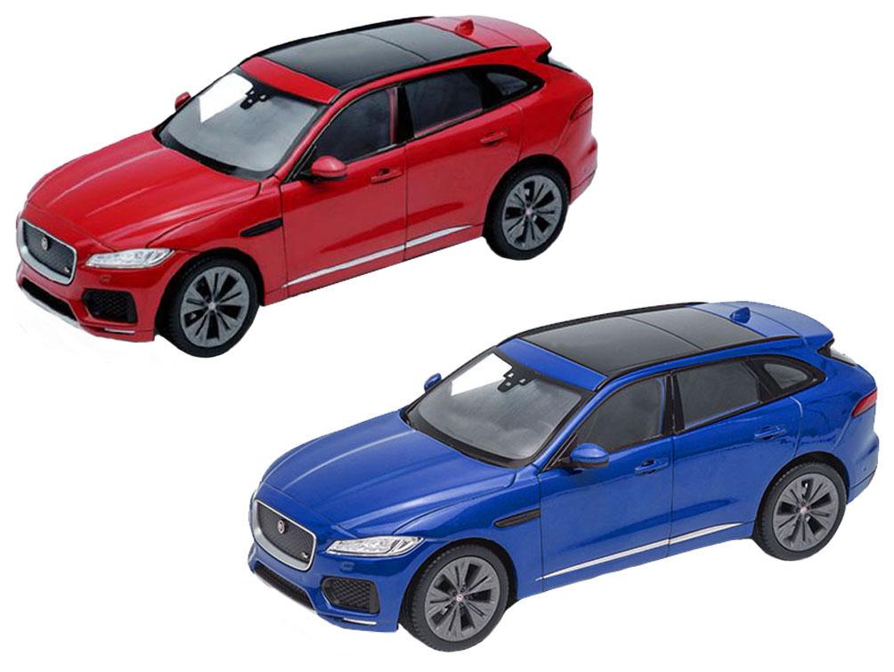 Купить Коллекционная модель машины Welly Jaguar F-Pace 1:24, Игрушечные машинки