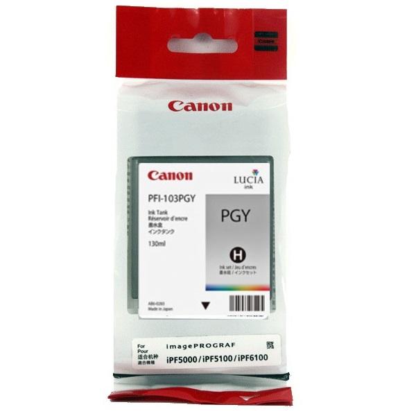 Картридж для струйного принтера Canon PFI-103PGY  - купить со скидкой