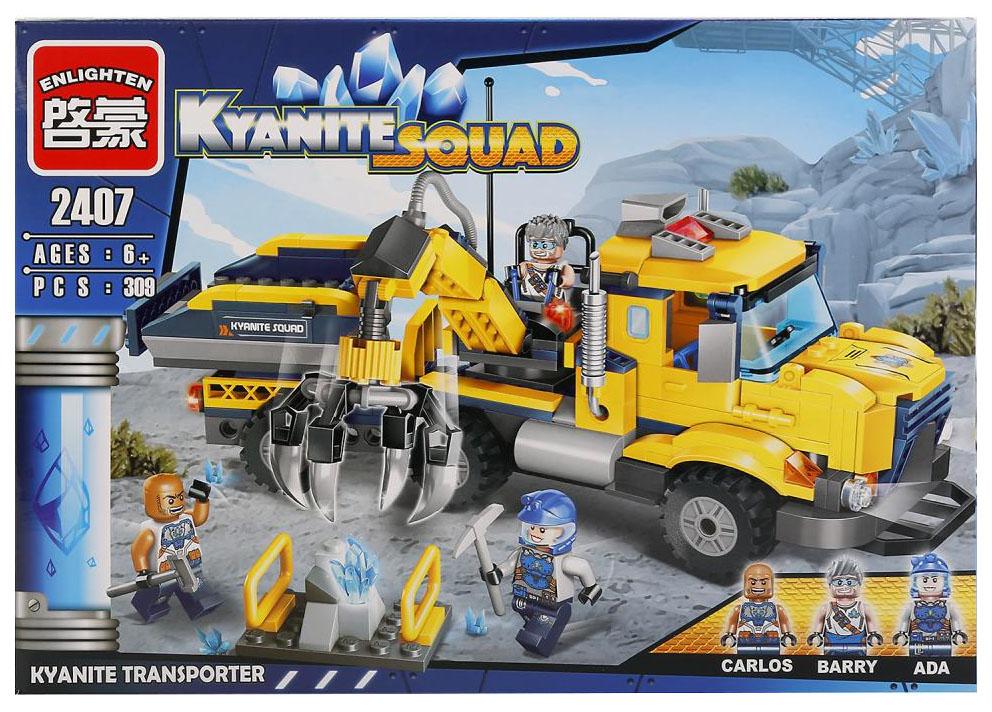 Купить Конструктор пластиковый Brick Транспортер кианита 2407 309 Деталей, Конструкторы пластмассовые