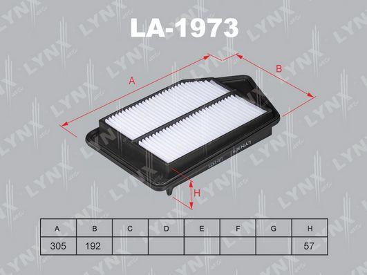 Воздушный фильтр LYNXauto LA-1973