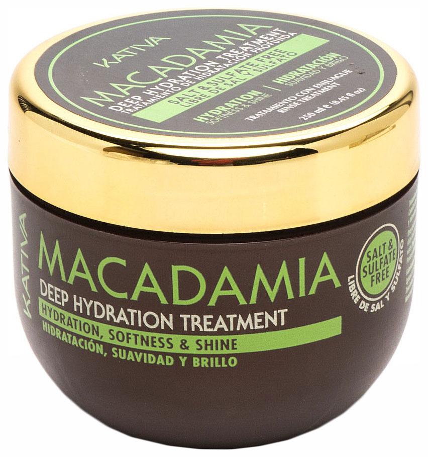 Купить Маска для волос Kativa Macadamia Deep Hydrating Treatment 250 мл