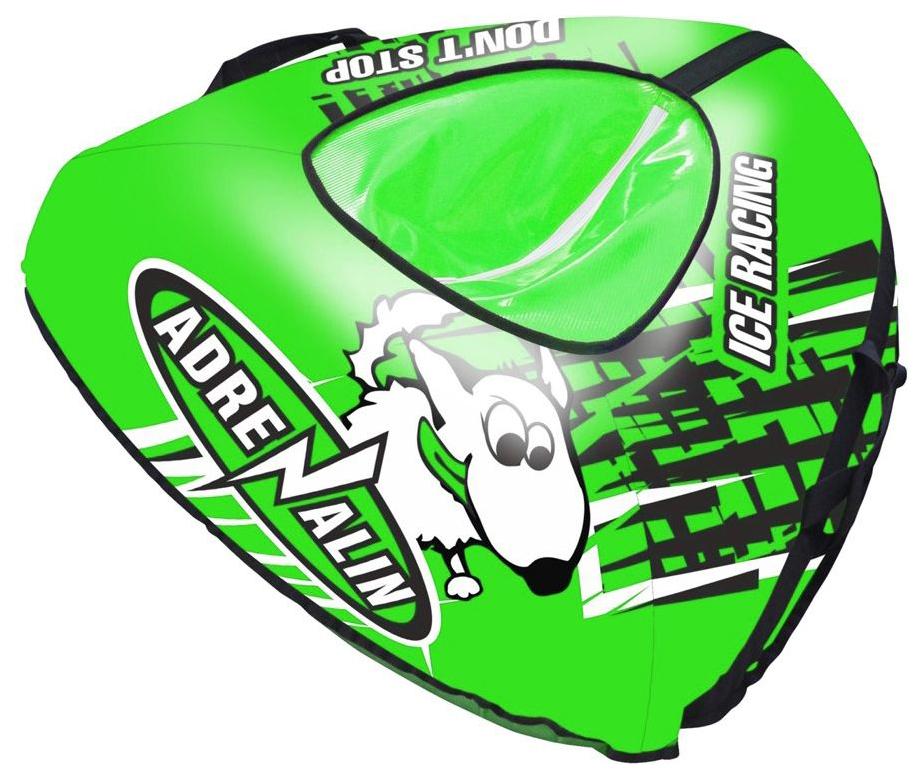 Тюбинг Тяни Толкай Собака зеленая, 120 см