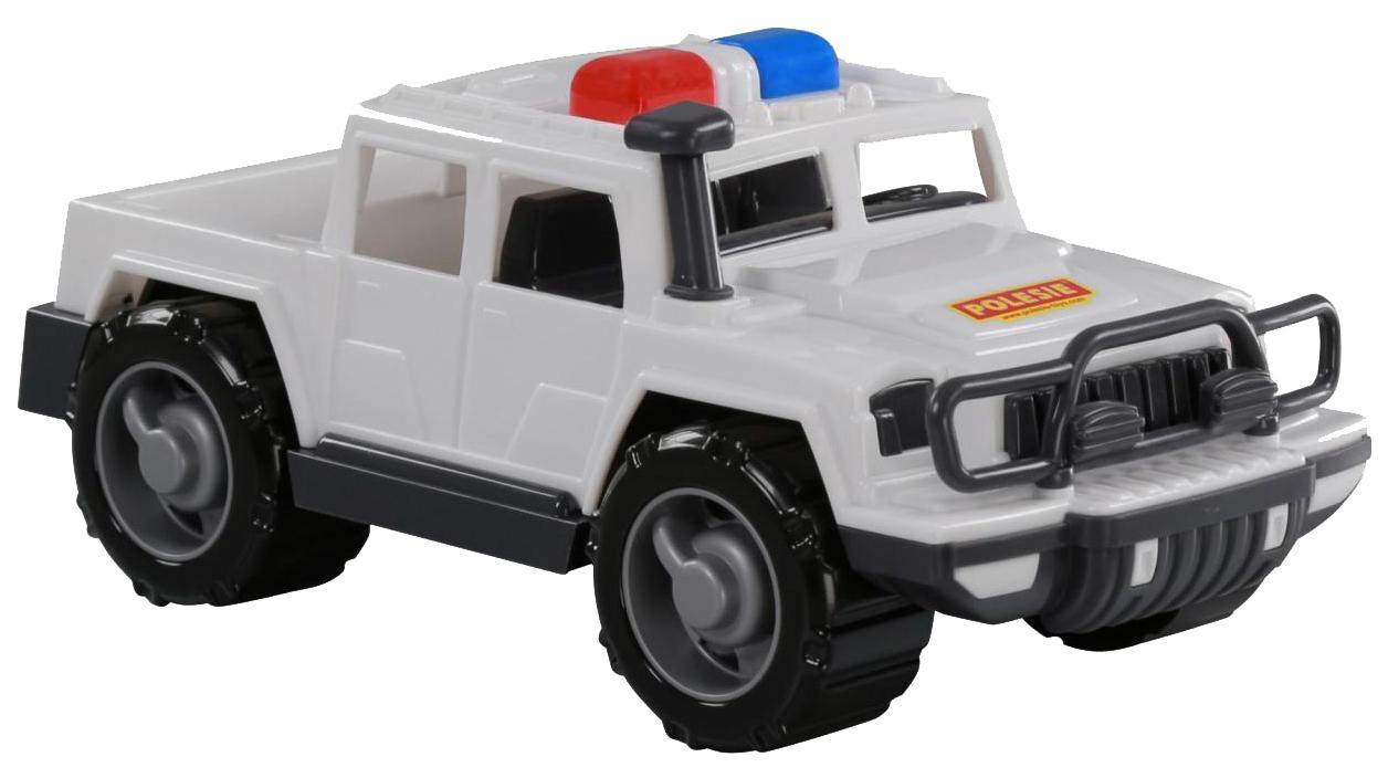 Купить Игрушки, Автомобиль-пикап Полесье патрульный Защитник, Игрушечные машинки