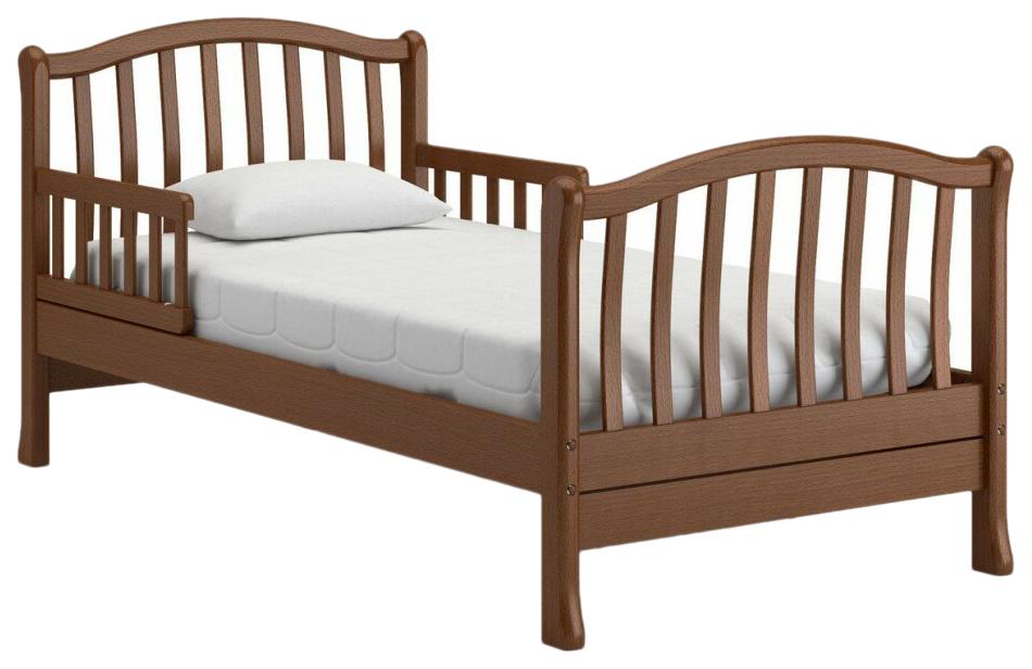 Купить Подростковая кровать Nuovita Destino Темный орех, Детские кровати