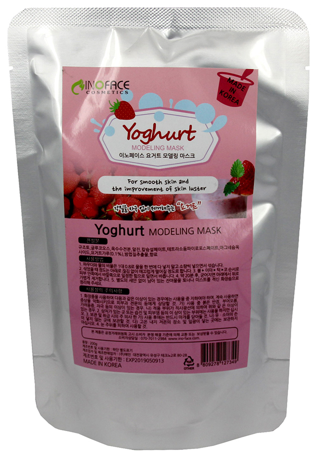 Купить Маска для лица Inoface Yoghurt Modeling 200 г