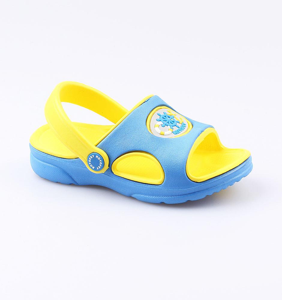 Купить Пляжная обувь Котофей 325020-05 для мальчиков р.29, Шлепанцы и сланцы детские