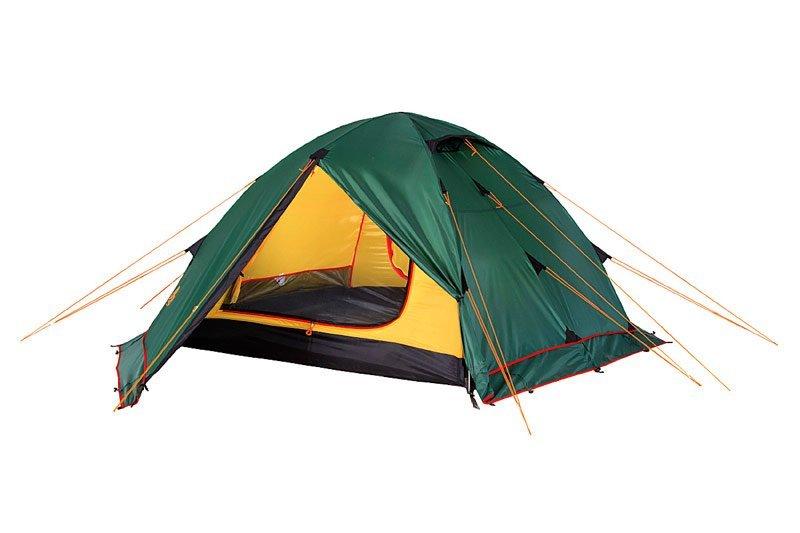 Палатка Alexika Rondo Plus четырехместная зеленая