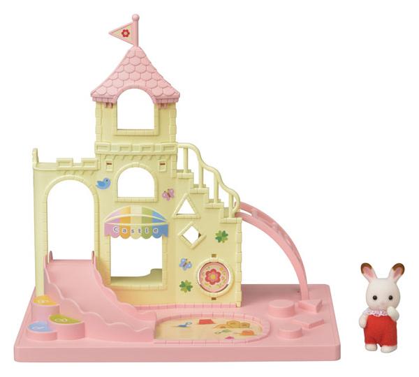 Купить Игровой набор Sylvanian Families Игровая площадка Замок, Игровые наборы