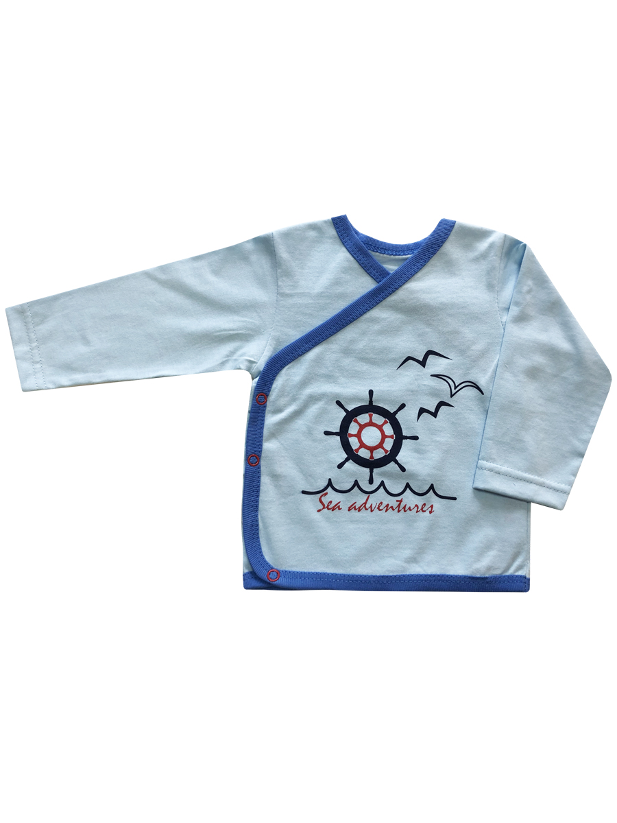 Купить Кофта для новорожденных КотМарКот К морю р.74 голубой, Кофточки, футболки для новорожденных