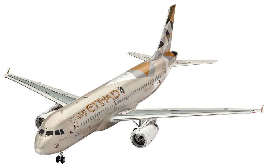 Купить Модель для сборки Revell Airbus A320 Etihad RV63968, Модели для сборки