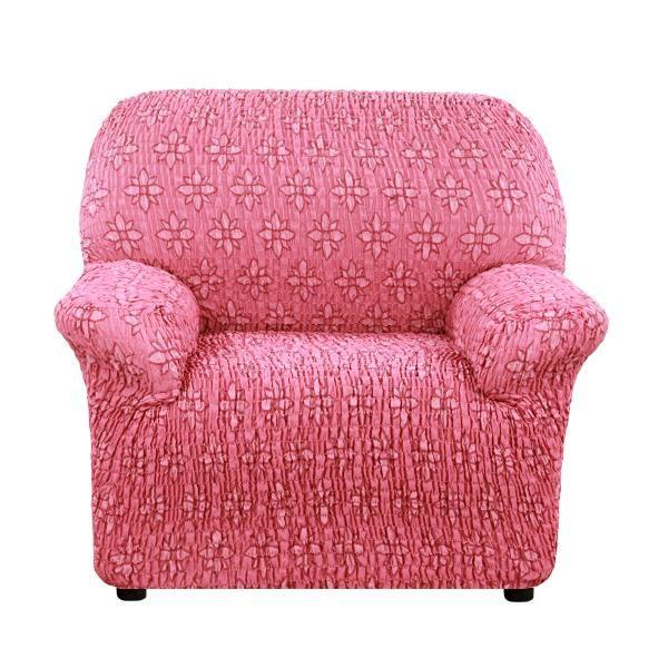Чехол на кресло Еврочехол Сиена Вернале бордовый
