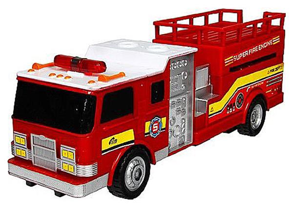 Радиоуправляемая пожарная машина Rui Feng с подъемной