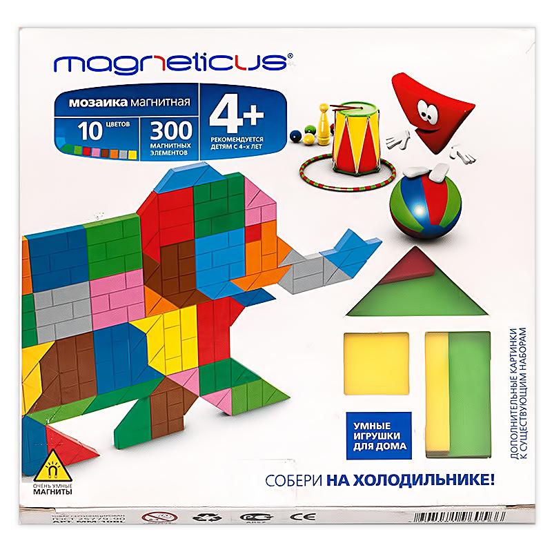 Купить MAGNETICUS Магнитная мозаика-миди Цирк, 300 элементов, Мозаики