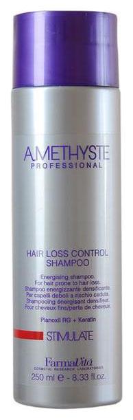 Купить Шампунь против выпадения волос Farmavita Amethyste stimulate hair loss control 250 мл