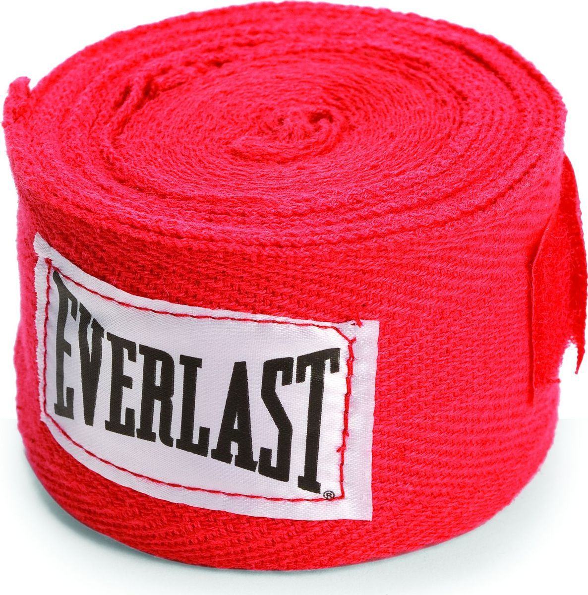 Бинт боксерский Everlast 4465RD, 2.5 м, хлопок, красный