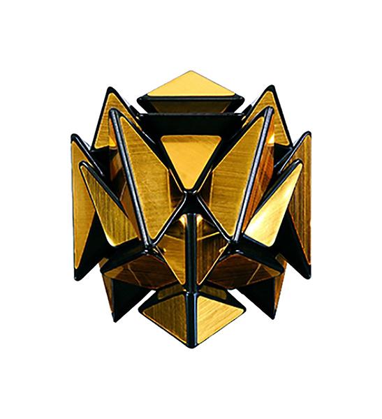 Головоломка PlayLab Зеркальный Кубик Трансформер Золото
