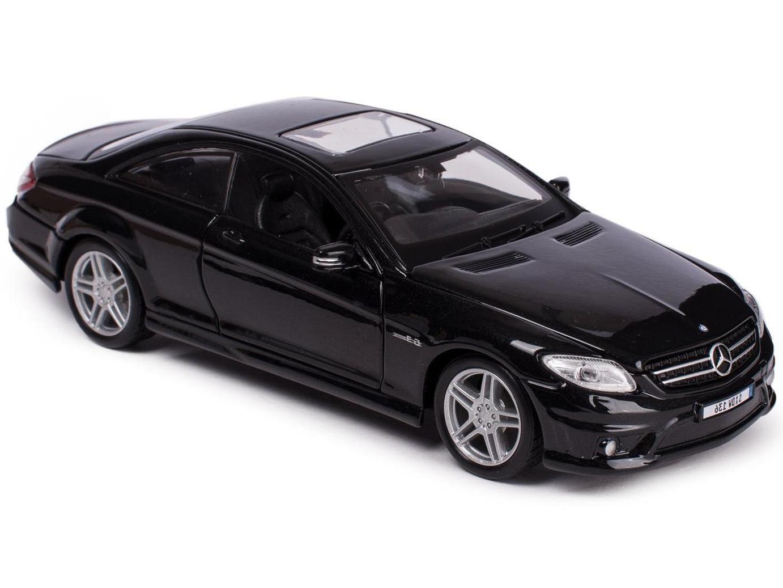 Купить Машинка Maisto 1:24 Mercedes-Benz CL 63 AMG, черная, Коллекционные модели