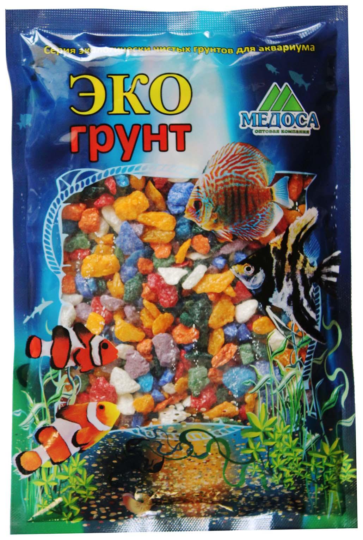 Грунт для аквариума ЭКОгрунт Мраморная крошка Микс