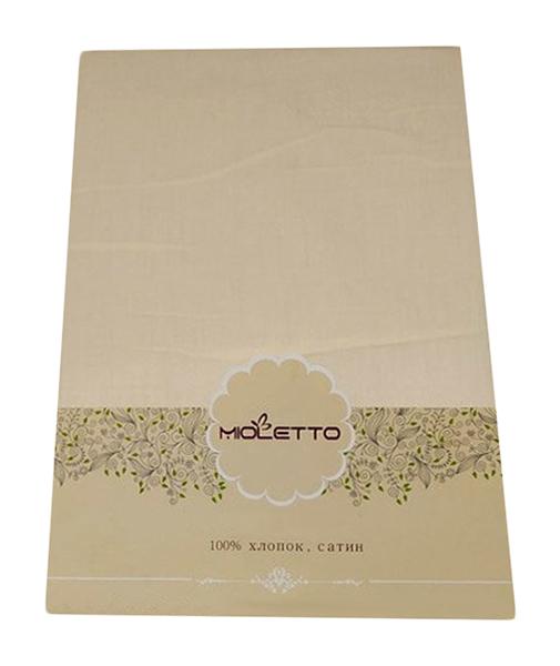 Простыня на резинке MIOLETTO 148-160/200/25 Светло-Персиковый 160x200 см