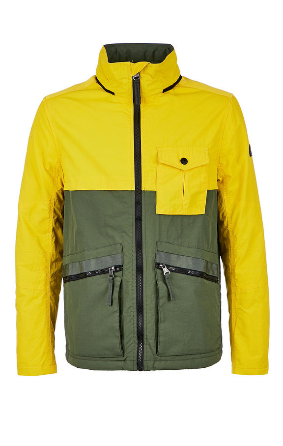 Куртка мужская TOM TAILOR желтая 52