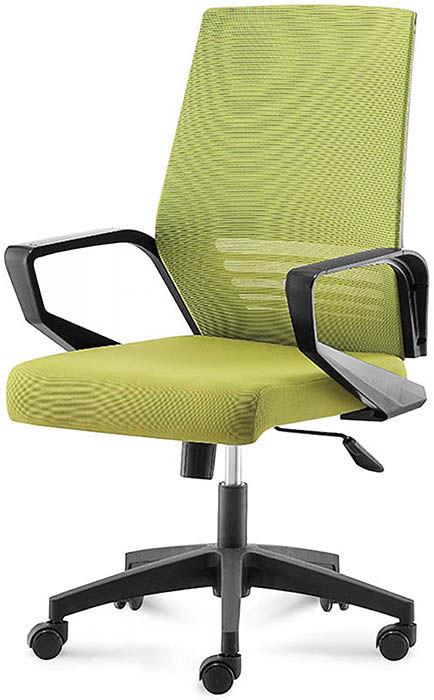 Офисное кресло Эрго-Black-LB зеленый