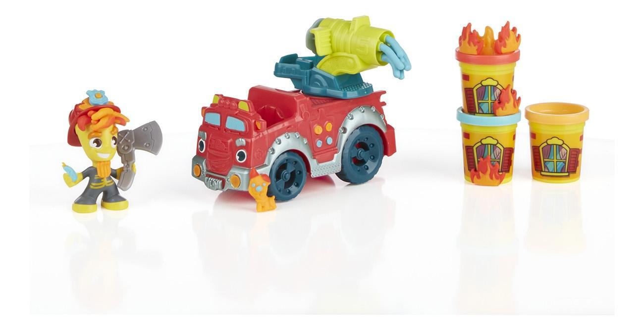 Купить Пожарная машина, Набор для лепки из пластилина play-doh город пожарная машина b3416, Лепка