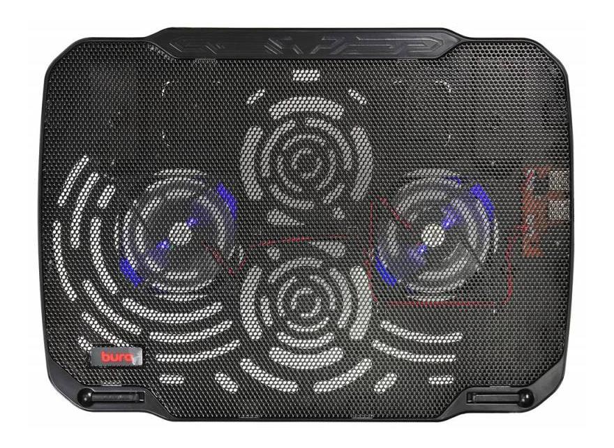 Подставка для ноутбука BURO BU LCP156 B208