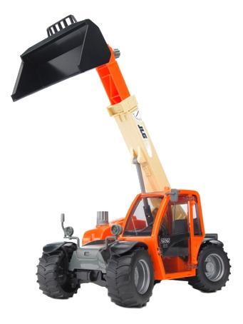 Купить Погрузчик колёсный Bruder Jlg 2505 telehandler с телескопическим ковшом, Игрушечный транспорт Bruder