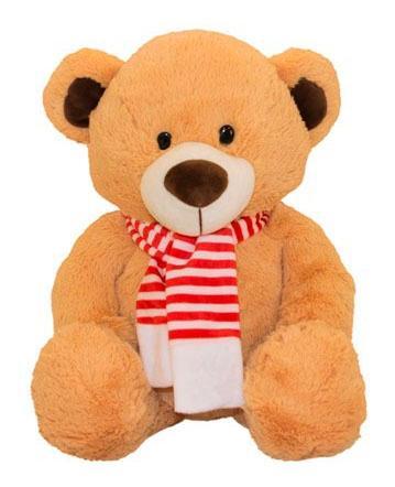 Купить Мягкая игрушка Button Blue Мишка Шерлок, 24 см, Мягкие игрушки животные