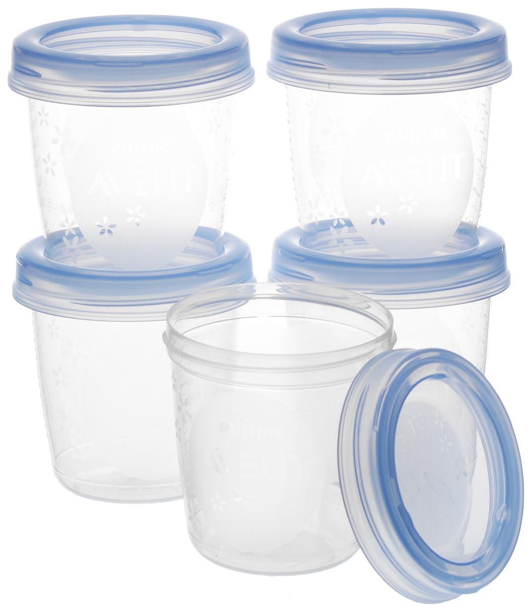 Набор контейнеров для хранения грудного молока Philips