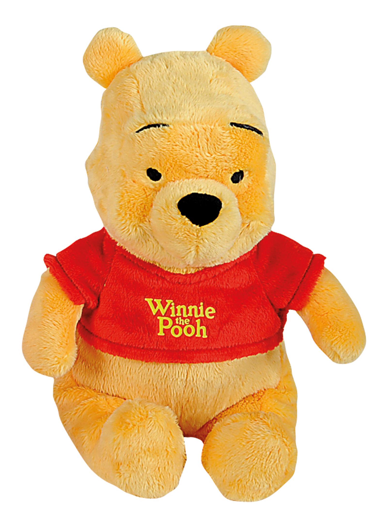 Мягкая игрушка Nicotoy Медвежонок Винни 25 см 1/12.