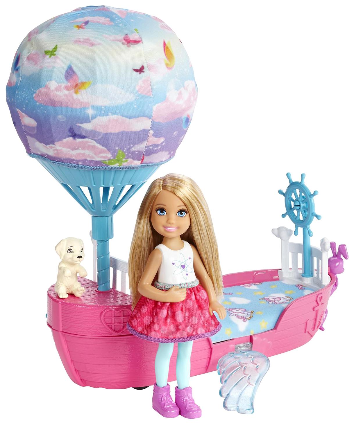 Купить Куклы Barbie Волшебная кроватка Челси DWP59