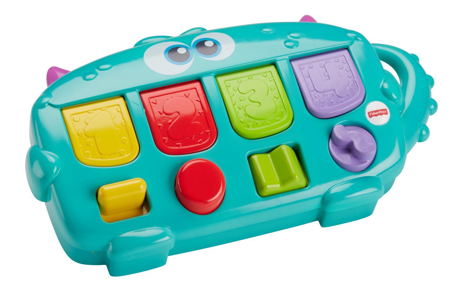 Купить Интерактивная развивающая игрушка Fisher-Price® Monster pop-up surprise DYM89, Развивающие игрушки