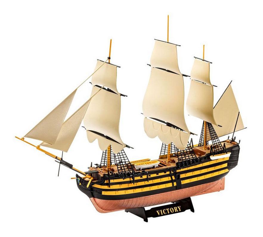 Сборная модель линейный корабль hms victory Revell
