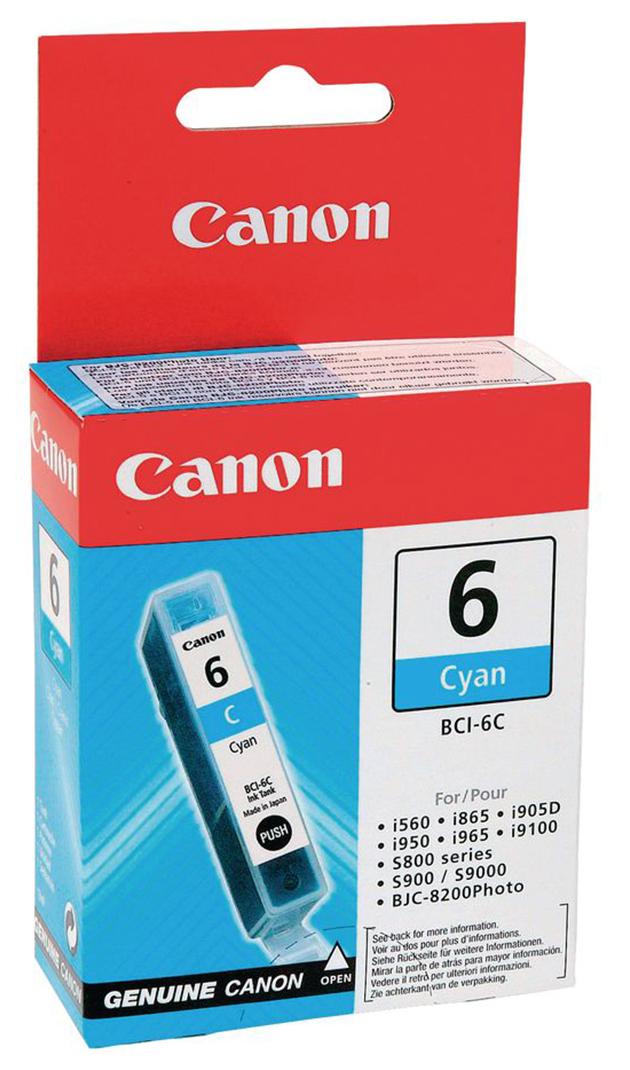 Картридж для струйного принтера Canon BCI-6C 4706A002  - купить со скидкой