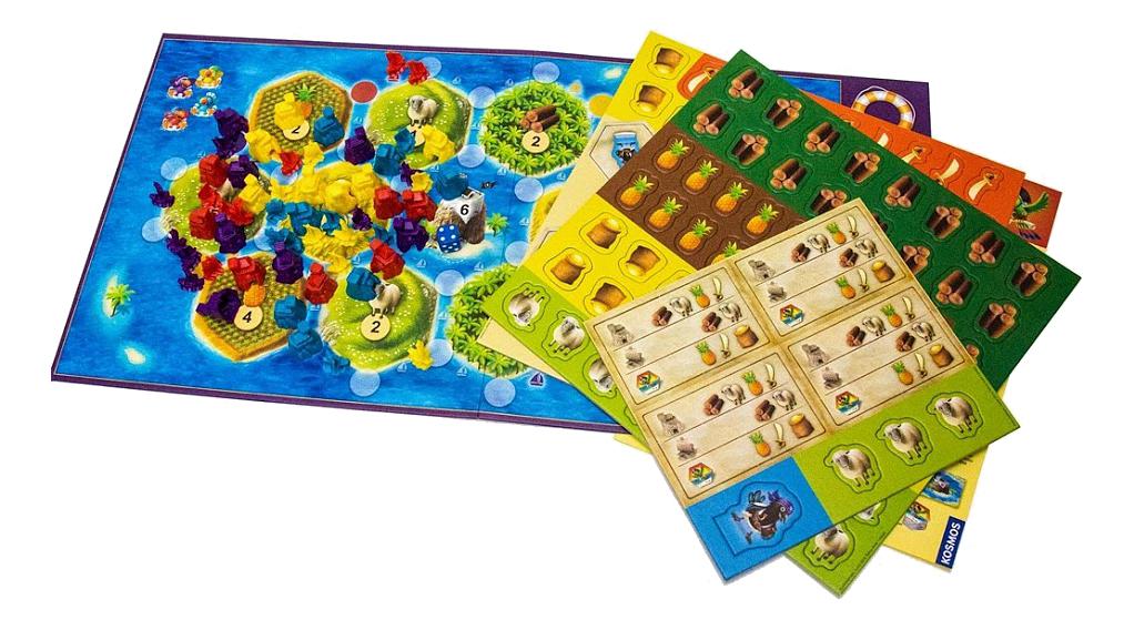 Настольная игра Hobby World Колонизаторы Junior