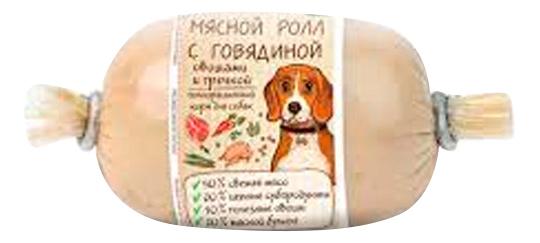 Консервы для собак MiniMe, породы малого размера, роллы с говядиной, 160г говядина, 160 г по цене 131