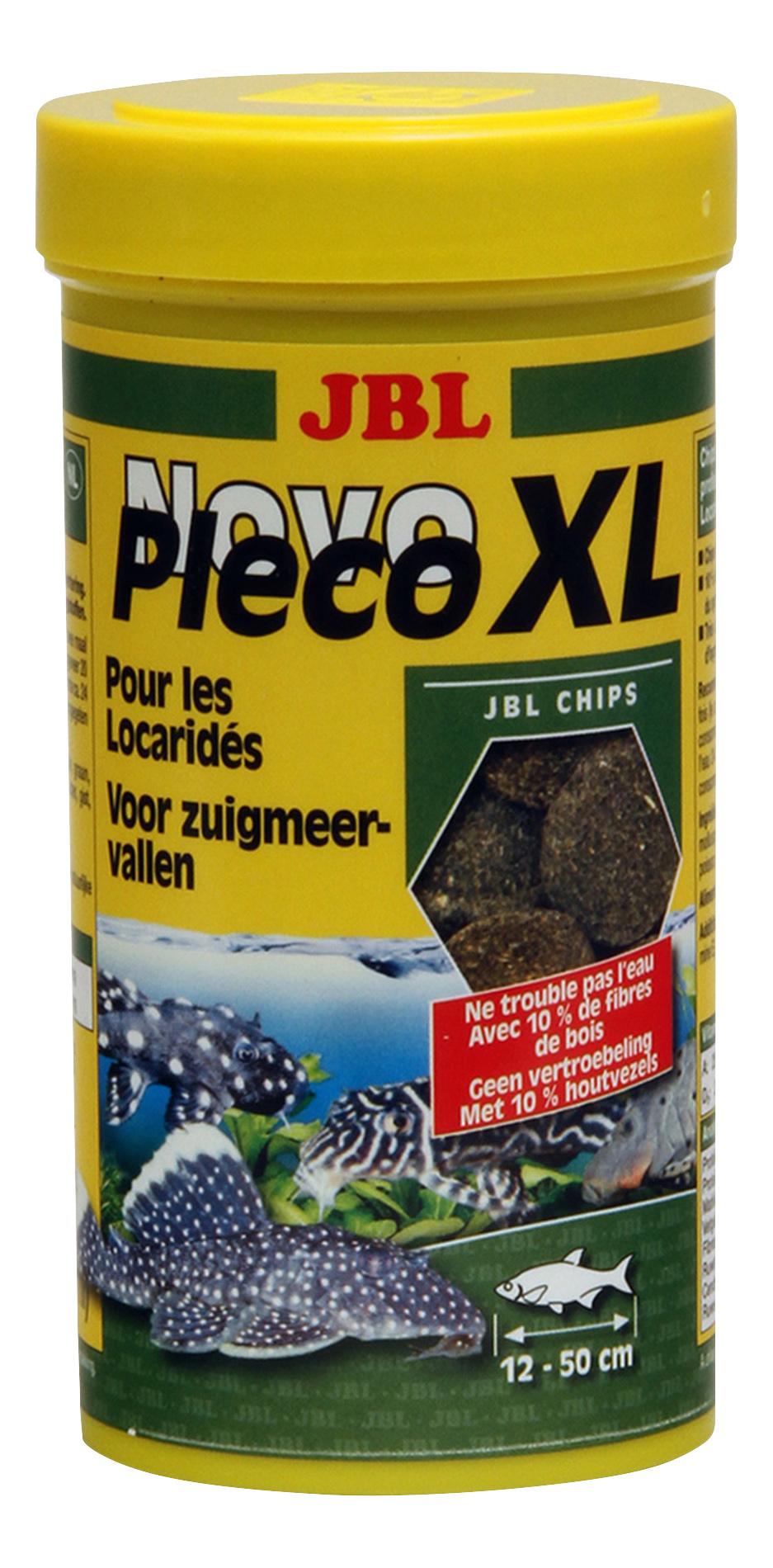 Корм для кольчужных сомов JBL NovoPleco XL,