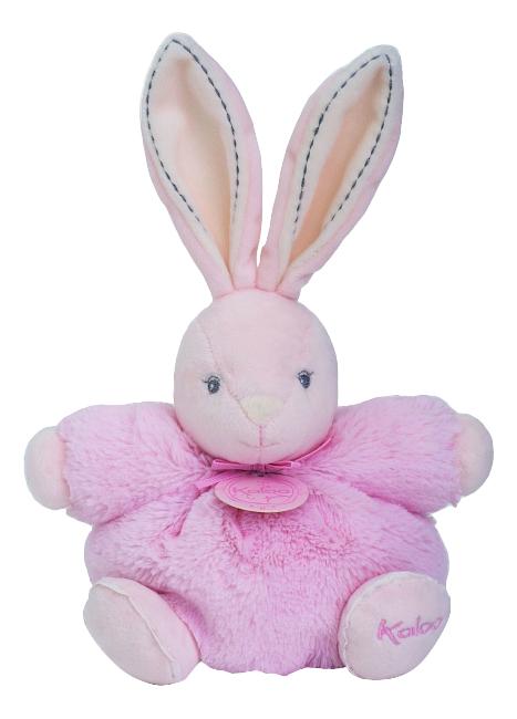Купить Заяц Жемчуг маленький 18 см, розовый, Мягкая игрушка Kaloo Заяц 18 см (K962153), Мягкие игрушки животные