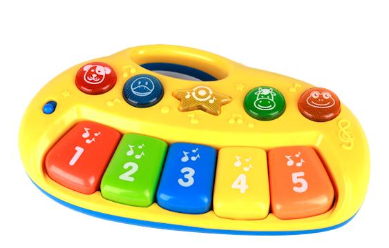 Купить Мое первое пианино, Пианино игрушечное Умка Мое первое пианино, Детские музыкальные инструменты