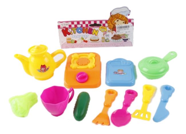 Купить Набор посуды игрушечный Shantou Kitchen B1469212, С-Трейд, Игрушечная посуда