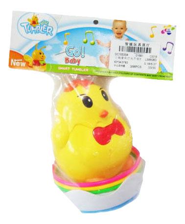 Купить Неваляшка Junfa Toys Go! Baby. Цыпленок LB8808D, Неваляшки