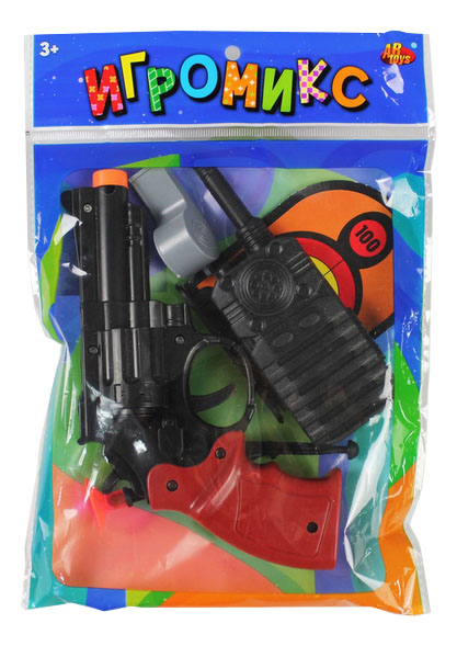 Купить Набор полицейского ABtoys Полицейский с пистолетом M6083,
